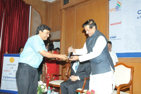 Award by Chief Minister Maharashtra