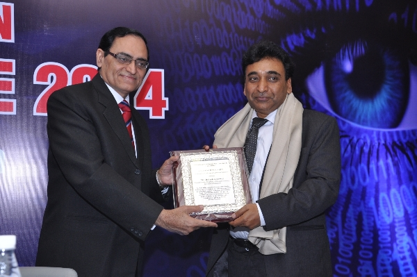Honoring at Cyber-crimes Conference, Delhi