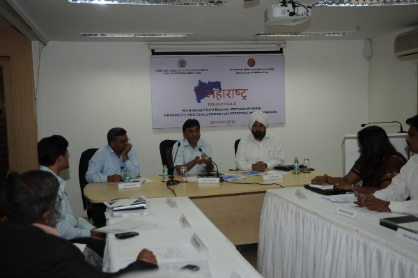 eGov Roundtable at ORF, Mumbai